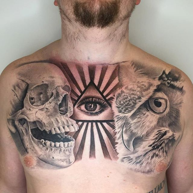 Some of our best Black & Grey and Colour Tattoos