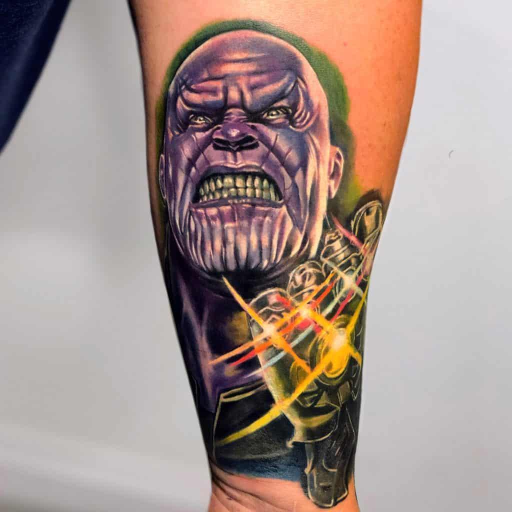thanos tattoo